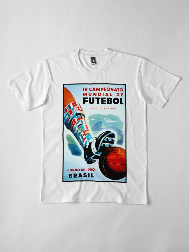 World Cup 1950 Poster T-Shirt