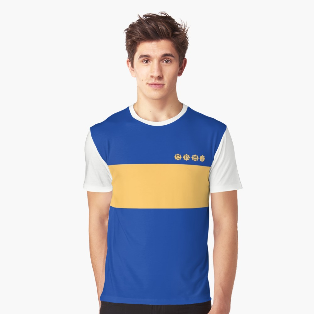 Boca Juniors 1981 Home T-Shirt - White