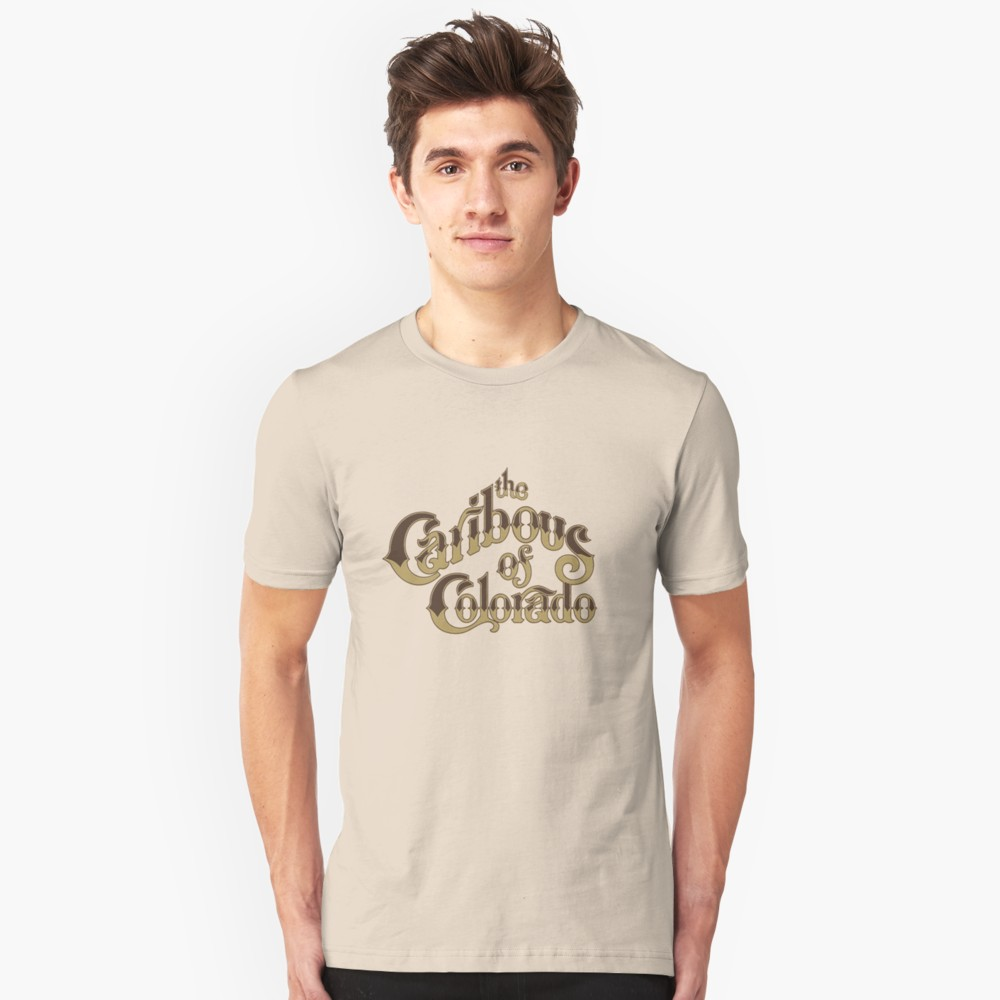Caribous of Colorado Logo T-Shirt