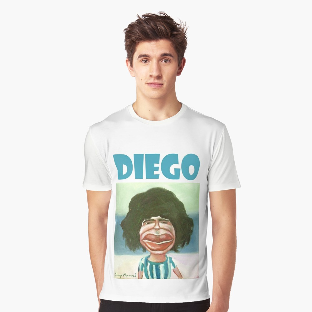 Diego, God of Soccer T-Shirt
