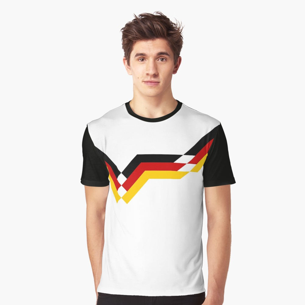 Germany 1990 Home T-Shirt - Black