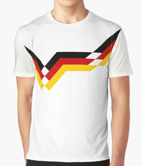 Germany 1990 Home T-Shirt - White