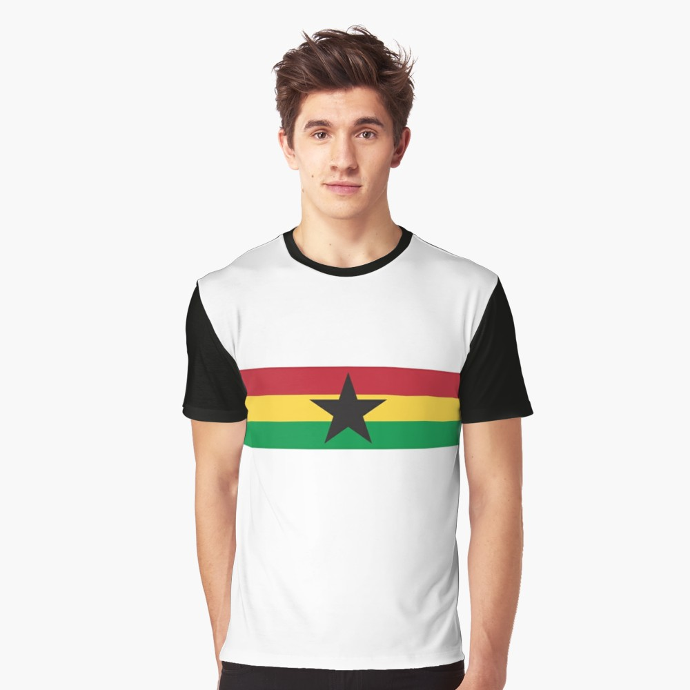 Ghana 1980s Away T-Shirt - Black