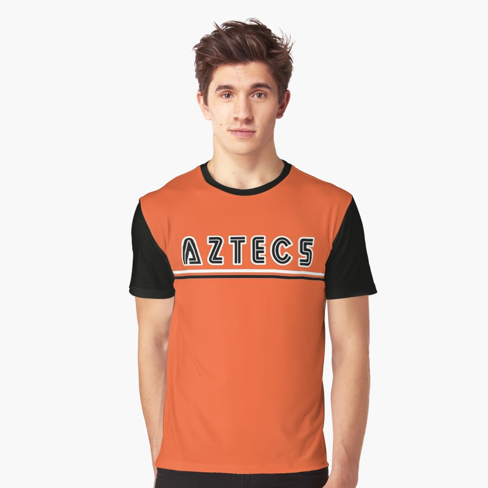 Los Angeles Aztecs 1978 Away T-Shirt - Black