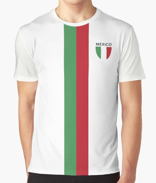 Mexico 1980s Away T-Shirt