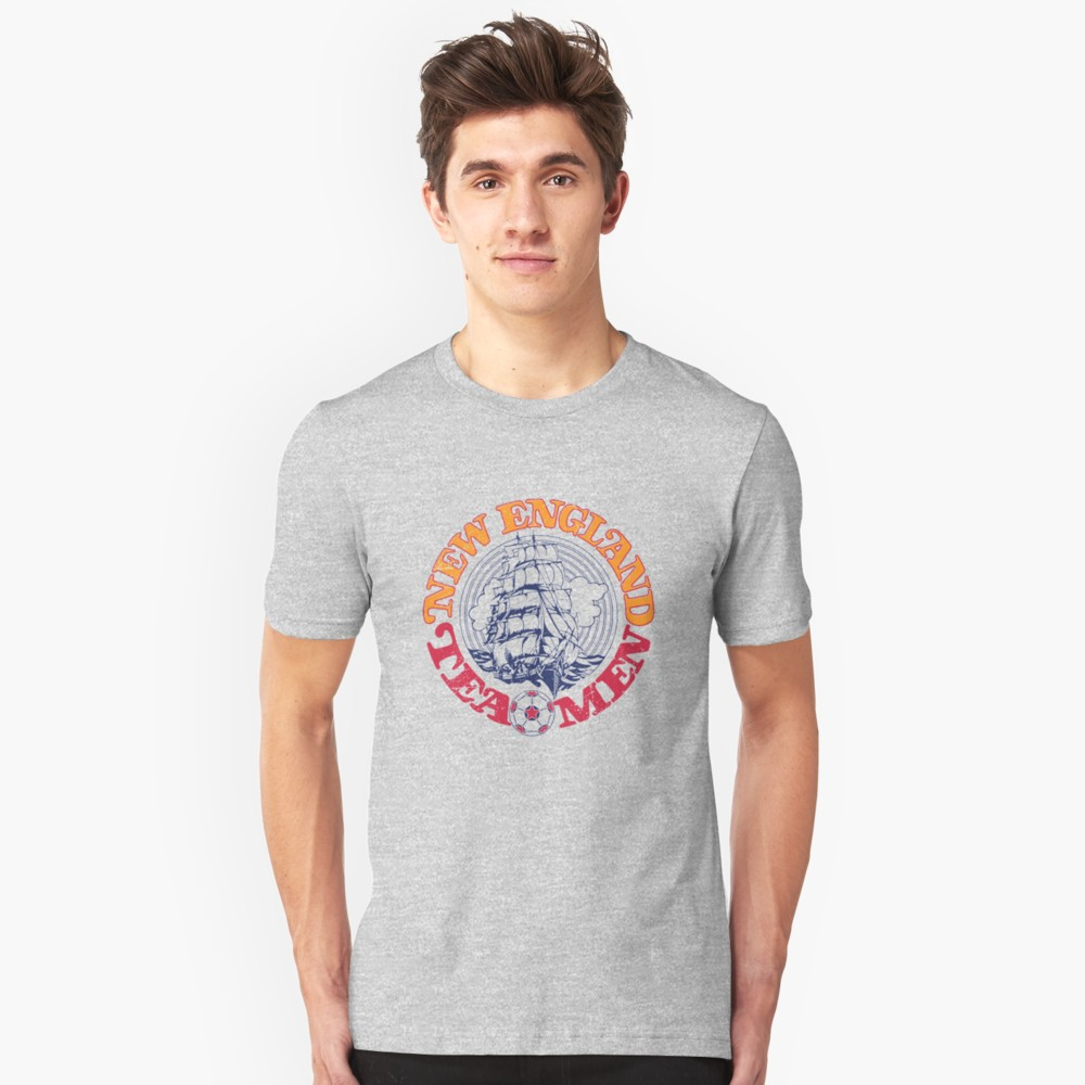 New England Tea Men Logo T-Shirt