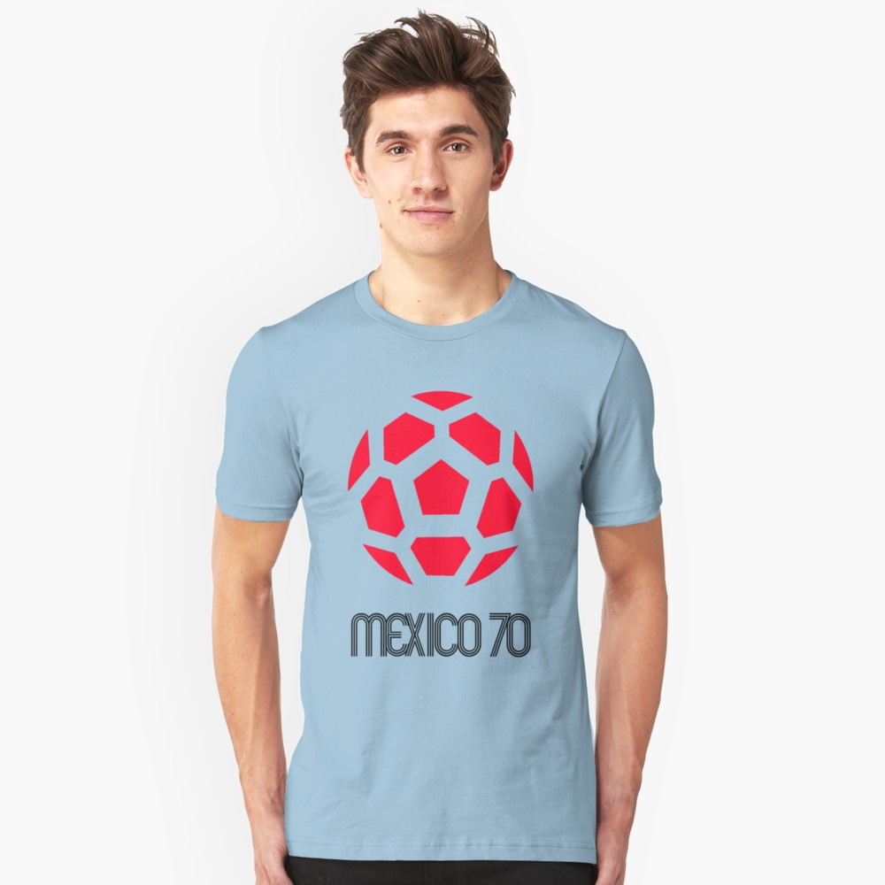 World Cup 1970 Logo T-Shirt - Red